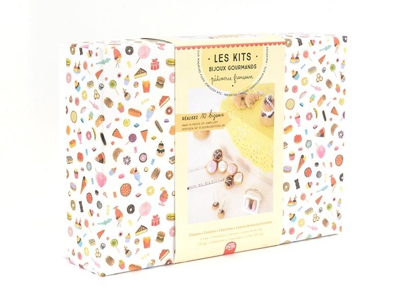 Acheter Kit DIY mes bijoux gourmands - pâtisserie française - 19,99€ en ligne sur La Petite Epicerie - Loisirs créatifs