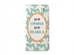 "Power bank - ""Pas de charge pas de blabla"""