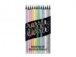 Crayons de couleurs pailletés Ooly - 1