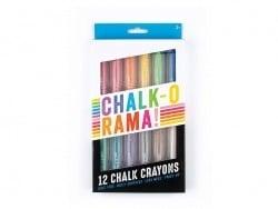 12 chalk crayons