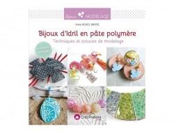 """Livre """" Bijoux d'Idril en pâte polymère"""" Créapassions - 1"""