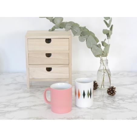 Acheter Tasse losanges géométriques - 16,90€ en ligne sur La Petite Epicerie - 100% Loisirs créatifs