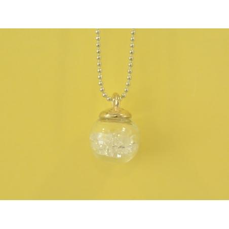 Acheter Pendentif fiole bulle de petites pierres - 6,20€ en ligne sur La Petite Epicerie - 100% Loisirs créatifs