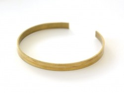 Brass bangle - 5 mm