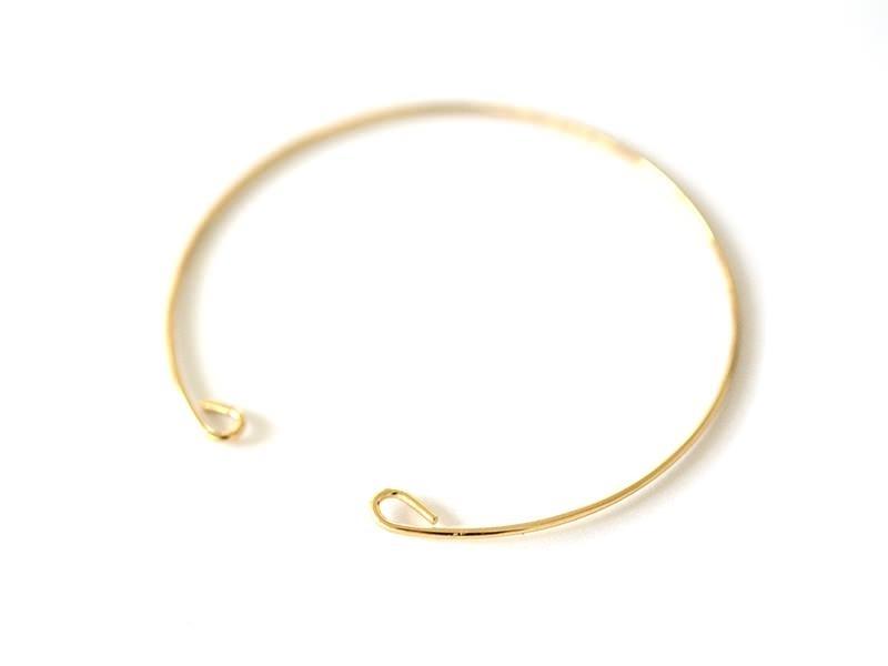 Acheter Bracelet jonc en laiton avec attaches - 1,7 mm - 3,00€ en ligne sur La Petite Epicerie - 100% Loisirs créatifs