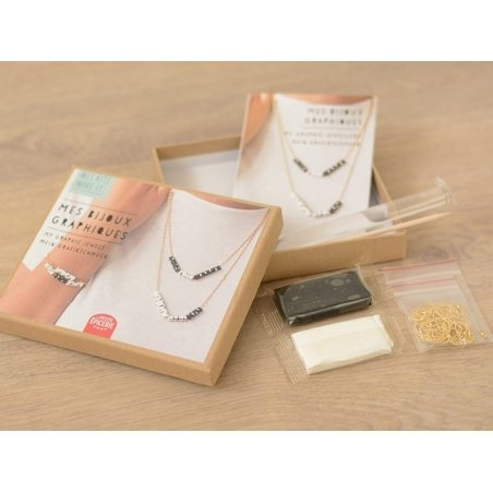 Acheter Kit MKMI - Mes bijoux graphiques - DIY - 16,99€ en ligne sur La Petite Epicerie - Loisirs créatifs