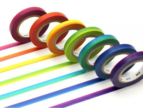 Acheter Lot de 7 masking tapes slim arc-en-ciel - 10,99€ en ligne sur La Petite Epicerie - Loisirs créatifs