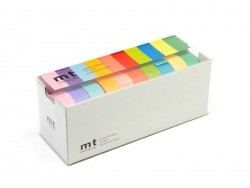 Lot de 10 masking tapes - couleurs claires