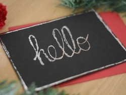Transfer foil with a metallic effect - rose gold