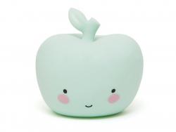 Apple night light - mint green