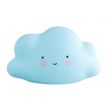 Veilleuse nuage - bleu pastel