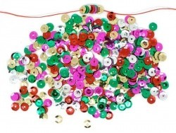 1000 sequins colorés