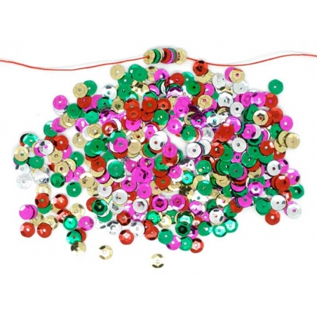 1,000 colourful sequins