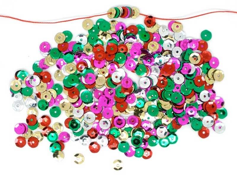 1000 sequins colorés  - 1