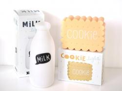 Duo de veilleuses Cookie & Milk