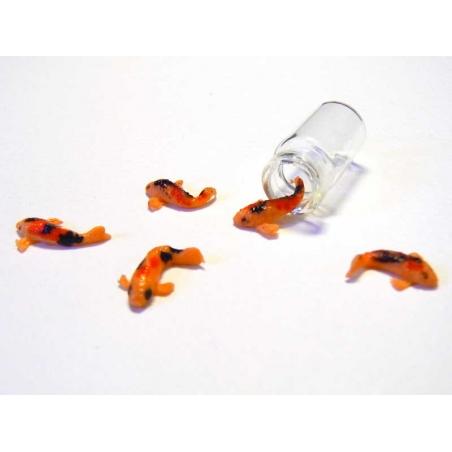 Miniature goldfish