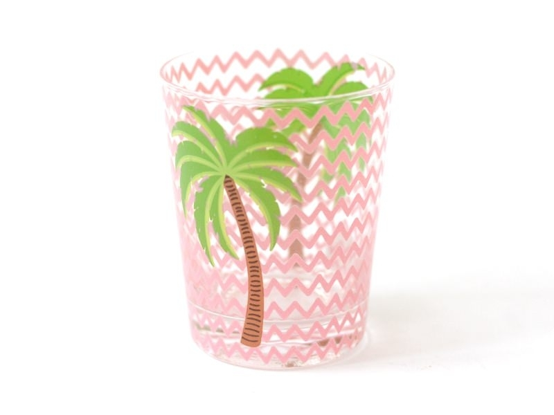 Verre - palmier