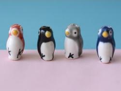 Keramikperle - Pinguin