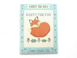 Kit de broderie - Rusty the Fox