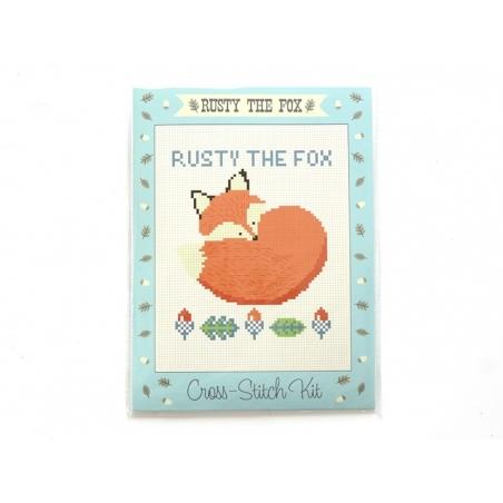 Kit de broderie - Rusty the Fox Dotcomgiftshop - 1