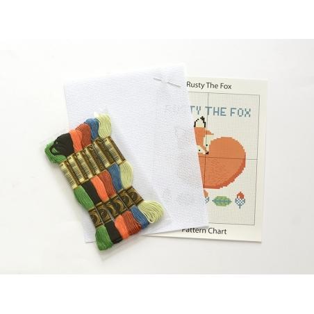 Kit de broderie - Rusty the Fox Dotcomgiftshop - 2