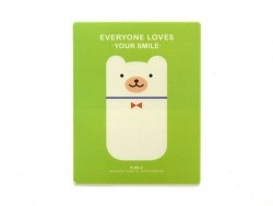 "Tapis de souris ""Everyone loves your smile"" - vert"