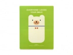 "Tapis de souris ""Everyone loves your smile"" - vert  - 1"