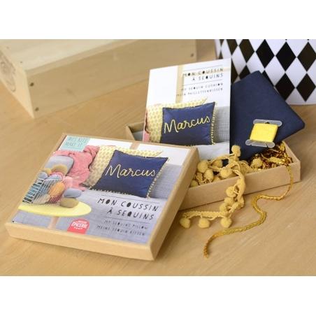 Acheter Kit MKMI - Mon coussin à sequins - DIY - 16,99€ en ligne sur La Petite Epicerie - 100% Loisirs créatifs