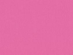 Tissu polycoton uni - rose bonbon