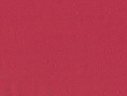 Tissu polycoton uni - rouge