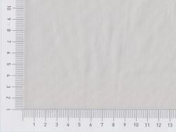 Tissu polycoton uni - blanc argile