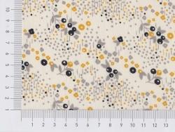 Tissu imprimé Atelier brunette x Mini Labo - Angèle