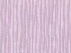 Printed fabric - mauve with white stripes