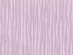 Tissu imprimé parme rayé blanc