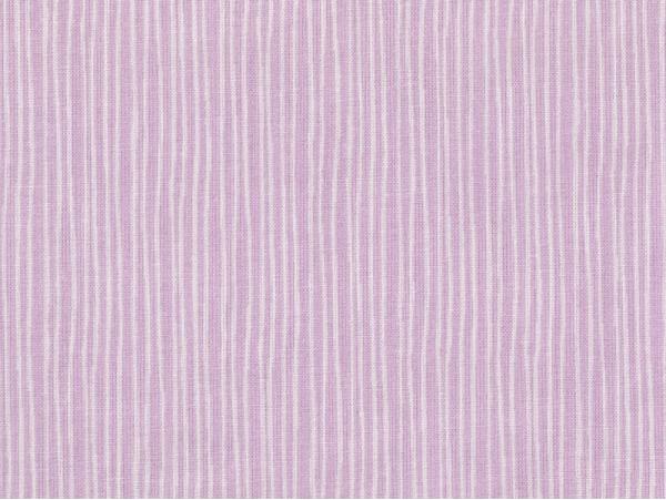 Tissu imprimé parme rayé blanc Rico Design - 1