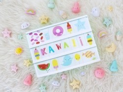 Lightbox accessories - kawaii set