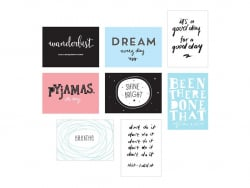 Pack 8 feuilles pour lightbox poster A4 - Fun - Accessoires lightbox A little lovely Company - 1