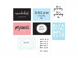 Pack 8 feuilles pour lightbox poster A4 - Fun - Accessoires lightbox