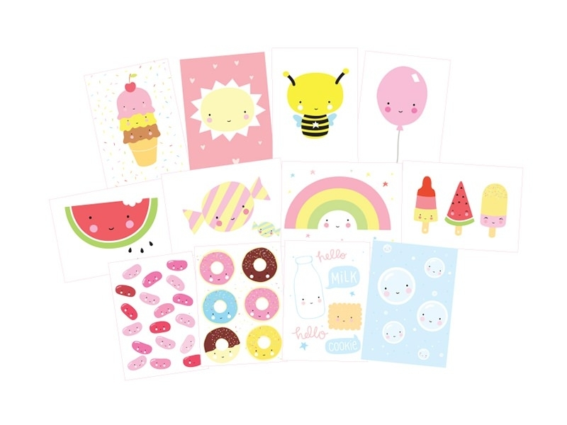 Cartes postales - kawaii A little lovely Company - 1
