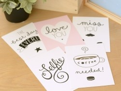 Cartes postales - kawaii