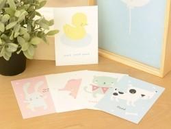 Cartes postales - Cute animals