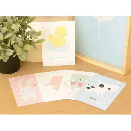 Postcards - cute animals
