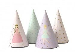 8 Chapeaux de fête - fées