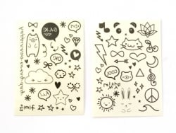 Mini tattoos mignons