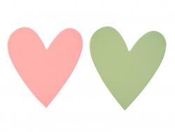Kleiderhaken - Herzen