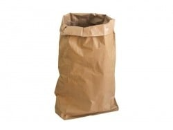 Grand sac en papier kraft marron