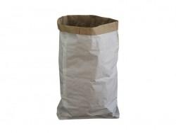 Big white kraft paper sack