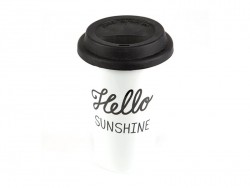 Mug isotherme à emporter - Hello sunshine
