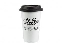 Mug isotherme à emporter - Hello sunshine Sass&Belle - 1