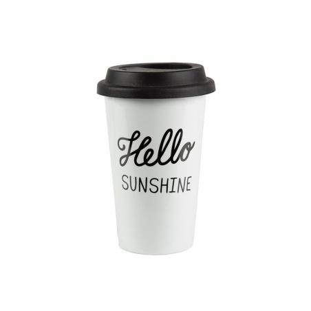 Acheter Mug isotherme à emporter - Hello sunshine - 12,90€ en ligne sur La Petite Epicerie - 100% Loisirs créatifs
